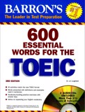 600 Essentail words for the TOEIC, 3rd Edition (Audios sent via email)