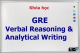Khóa học GRE Verbal Reasoning & Analytical Writing