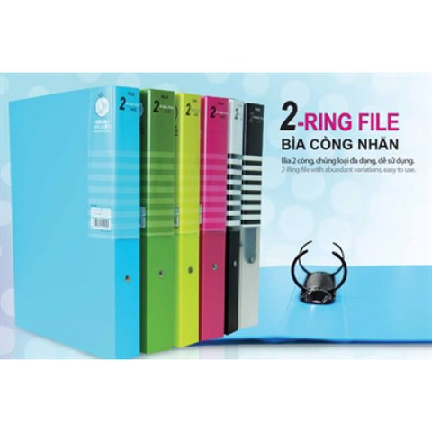 File còng Plus O-Ring 3cm