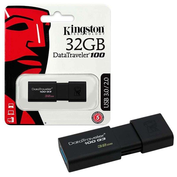 USB Kingston 32GB DataTraveler 100G3