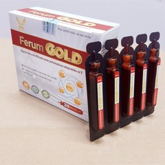 FERUMGOLD 10ml (T/60H/20ống)