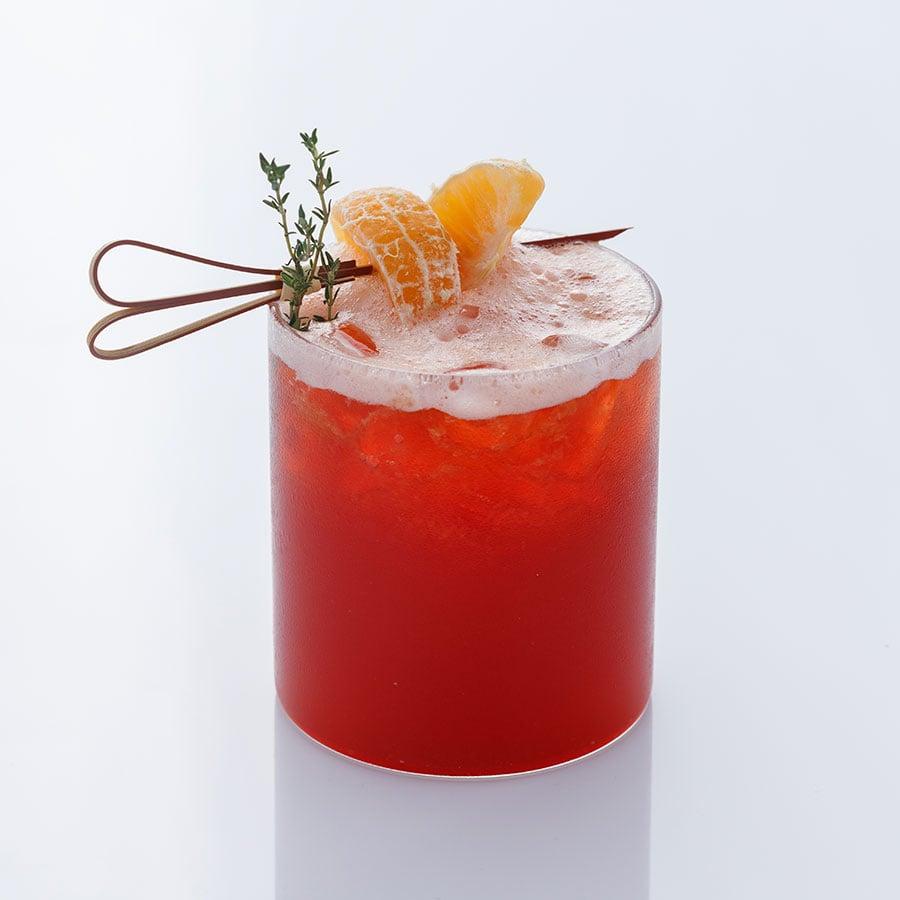 Mandarin Strawberry Tea Mix (Trà Quýt Dâu)