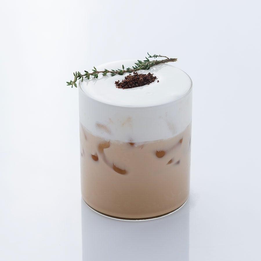 Trà đen kem sữa ( Macchiato Tea)