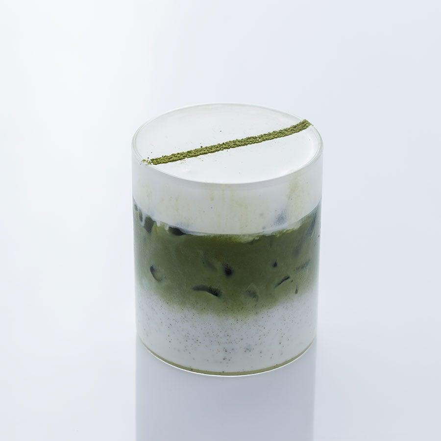 Trà xanh kem sữa ( Matcha Macchiato)