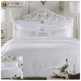 Bộ Ga trải CAMILA - Bed sheet +2PC+Duvet - Tencel Jacquard - White