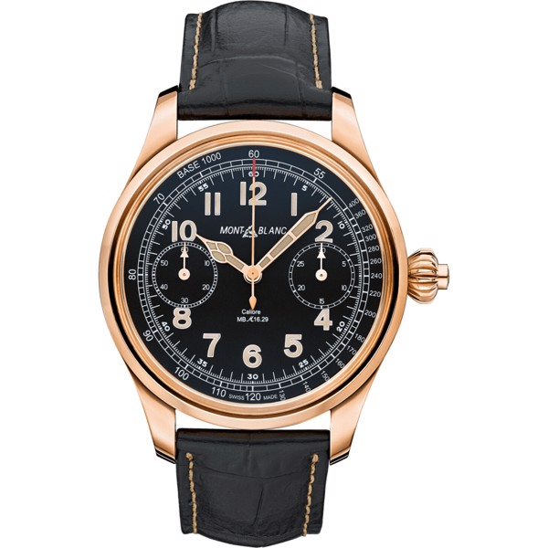 Montblanc 1858 112637 18K Gold Limited Edition 47mm