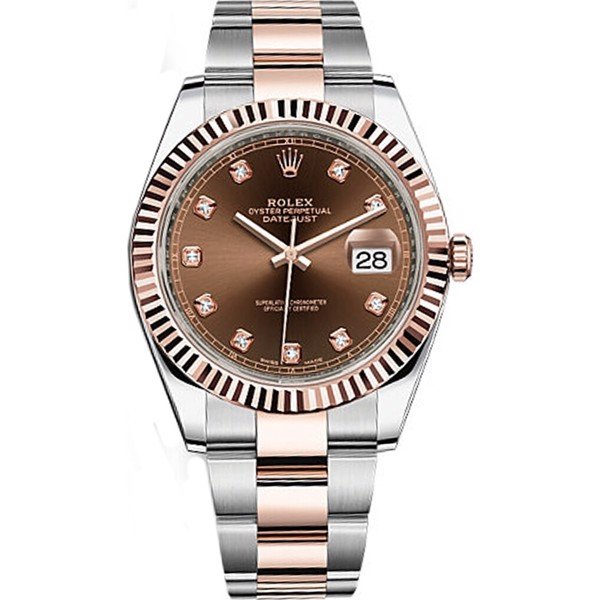 ROLEX  DATEJUST 126331-0003 WATCH 18K
