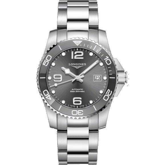 HydroConquest L3.781.4.76.6 Automatic Grey 41mm