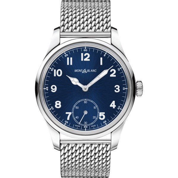 Montblanc 1858 114958 Manual Small Second Watch 44mm