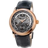 Frederique Constant FC-718DGWM4H4 Worldtimer Watch 42mm