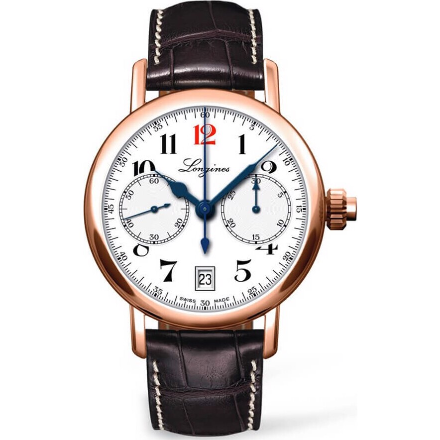 Longines Heritage L2.775.8.23.3 180th Anniversary Watch 40