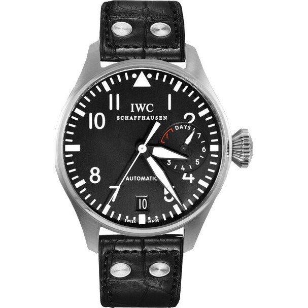 IWC Big Pilot IW500401 Steel Black Men's Watch 46.2mm