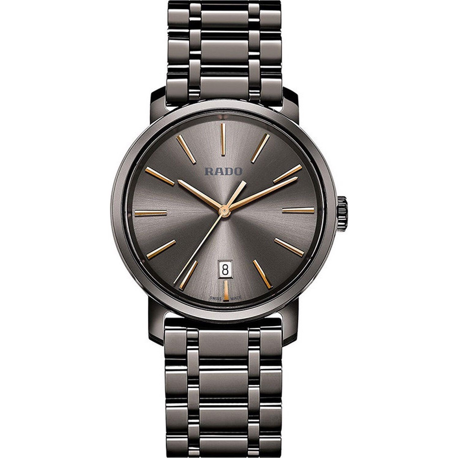 Rado Diamaster XL Plasma High-Tech Ceramic Watch 40