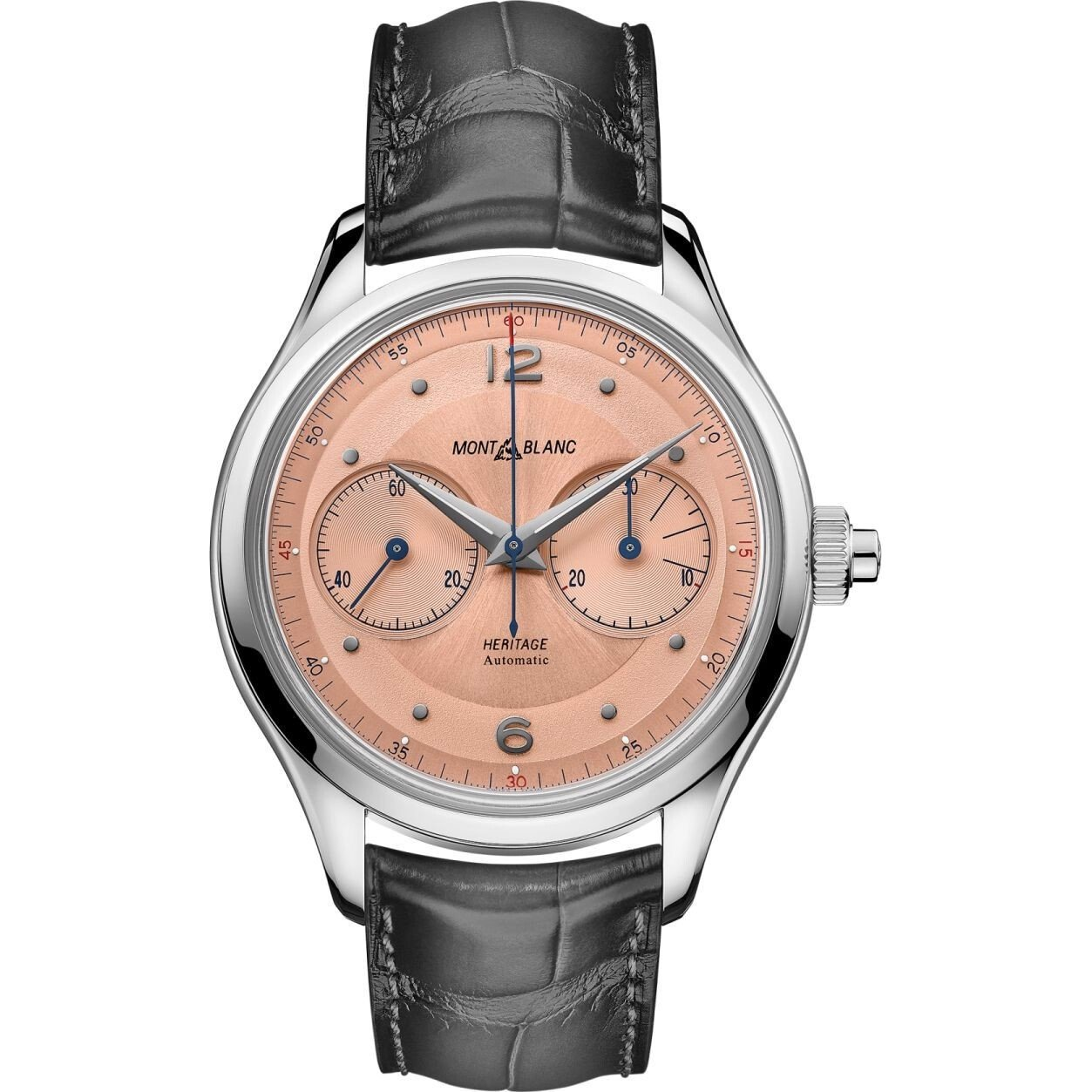 Montblanc Heritage 126078 Monopusher Watch 42mm