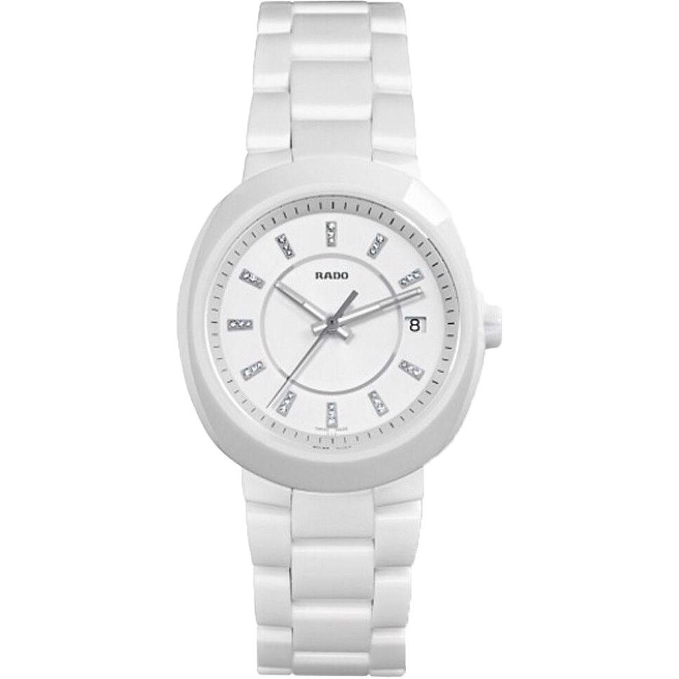 Rado D-Star Diamond White Dial Watch 38mm