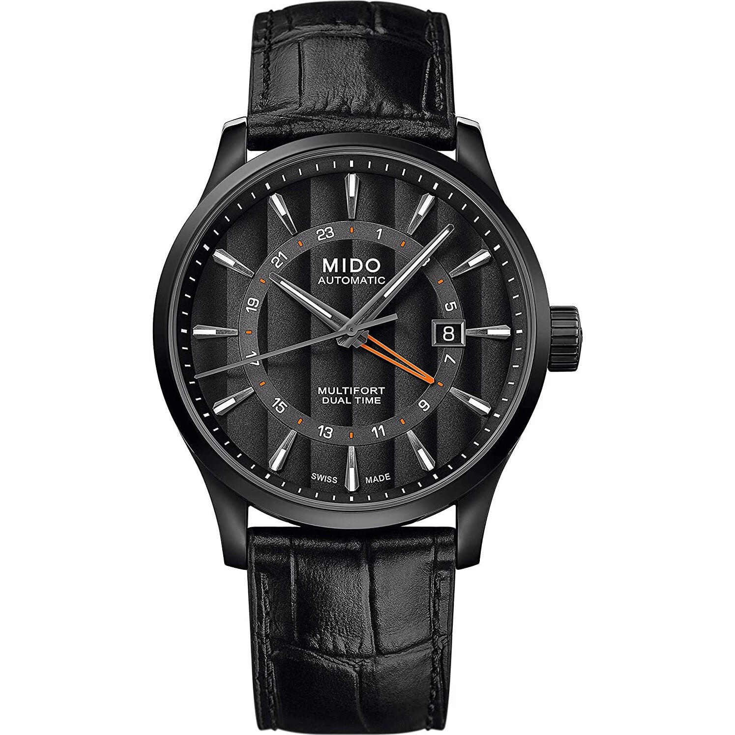 Mido Multifort M038.429.36.051.00 Dual Time 42mm