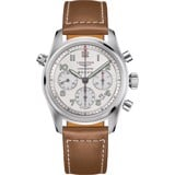 Longines Spirit L3.820.4.73.2 Watch 42mm