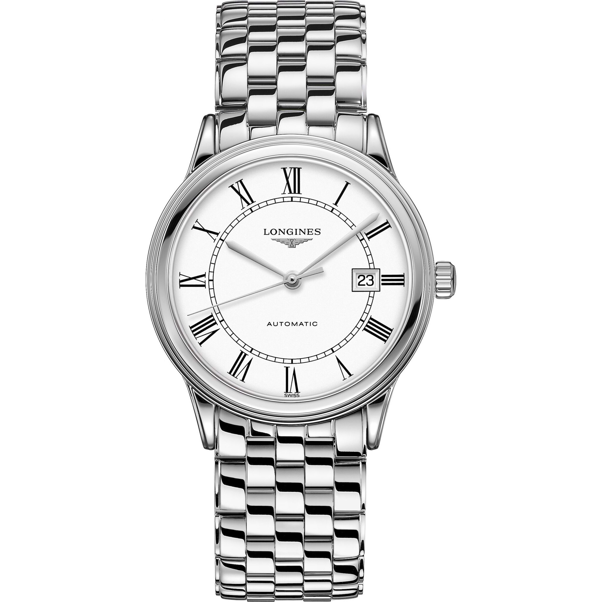 Longines Flagship L4.984.4.21.6 Watch 40mm