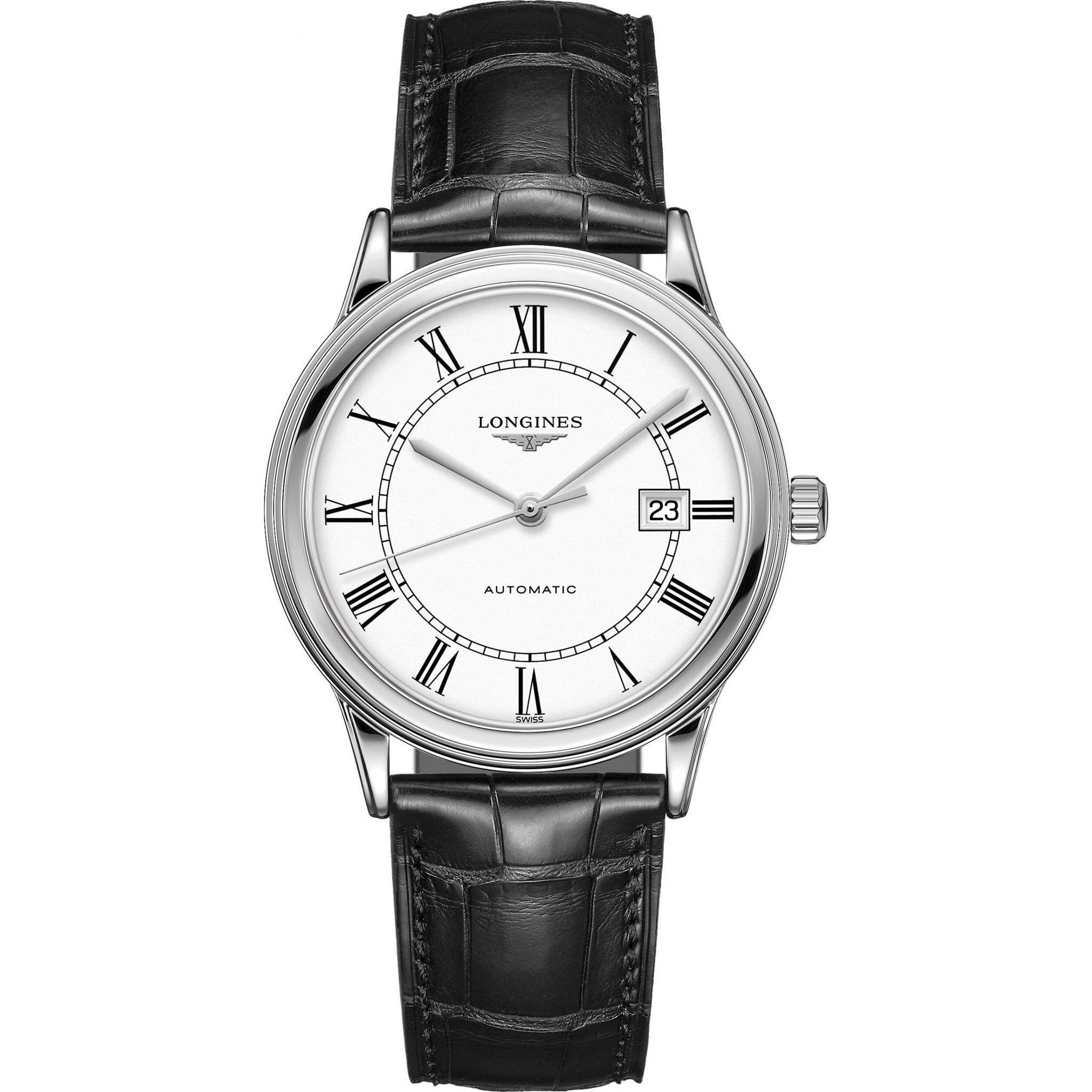 Longines Flagship L4.984.4.21.2 Watch 40mm