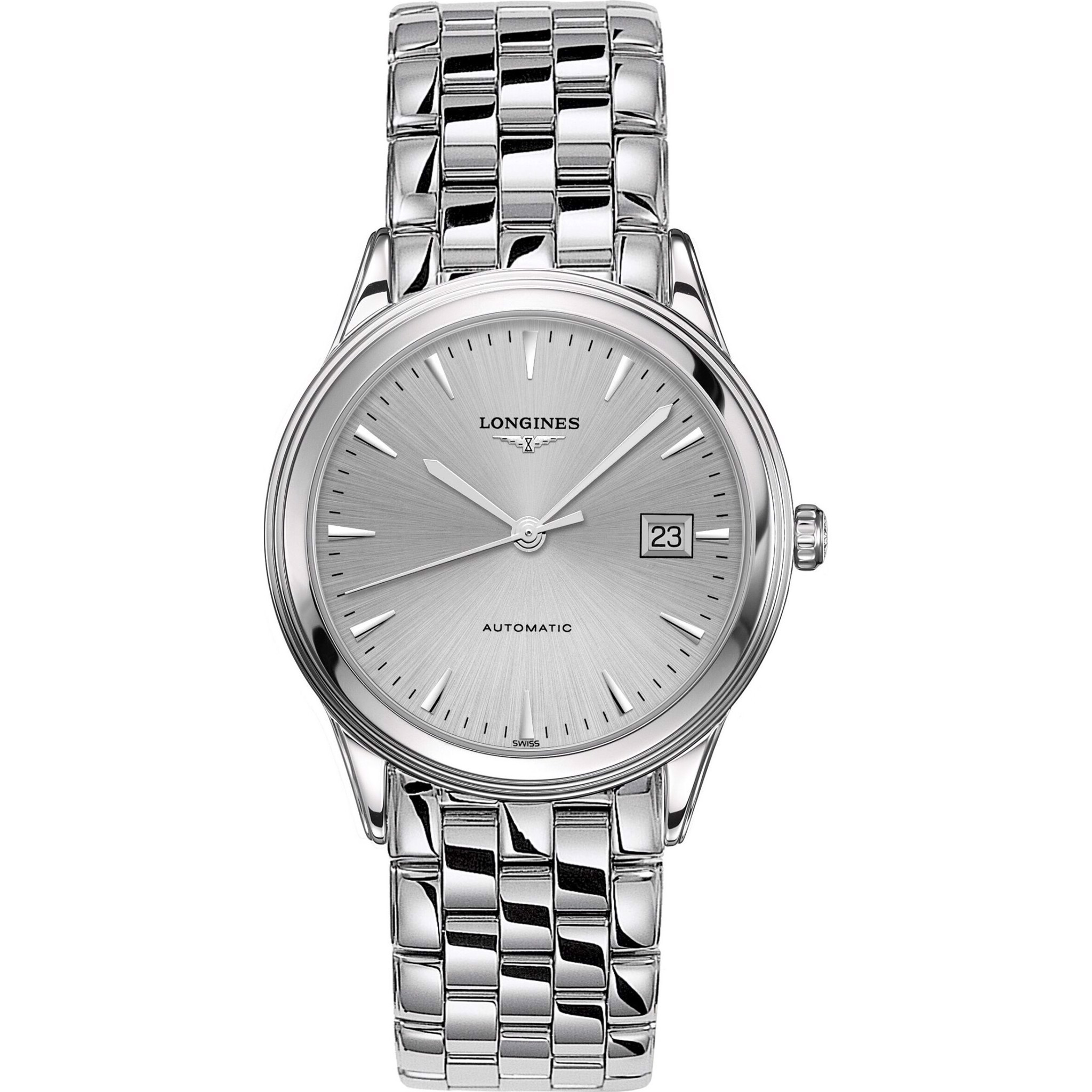 Longines Flagship L4.974.4.72.6 Watch 38.5mm