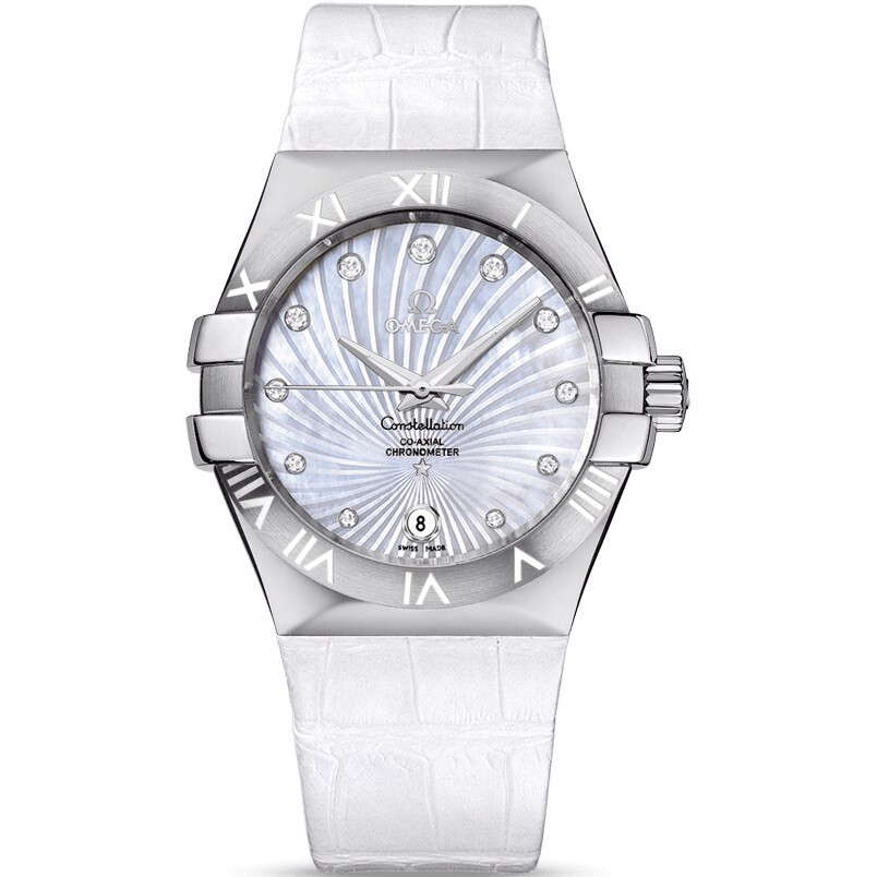 Omega Constellation 123.13.35.20.55.001 Watch 23mm