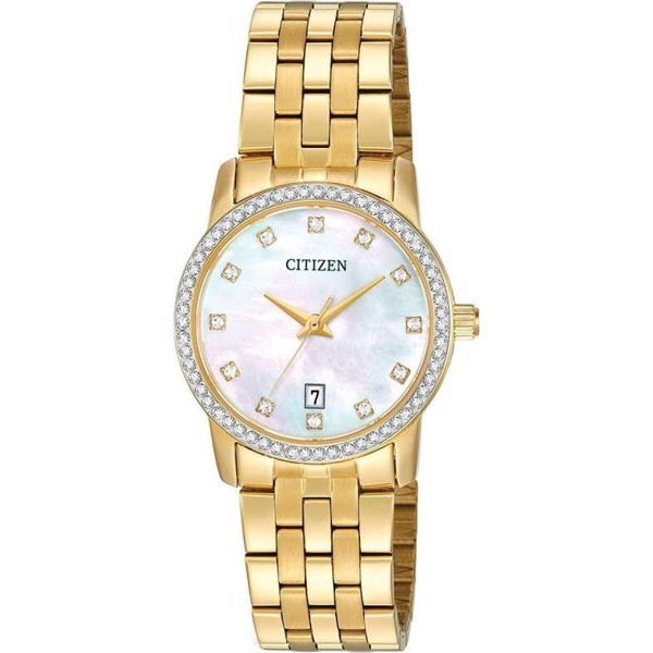 Citizen  EU6032-51D Mother of Pearl Watch 27mm