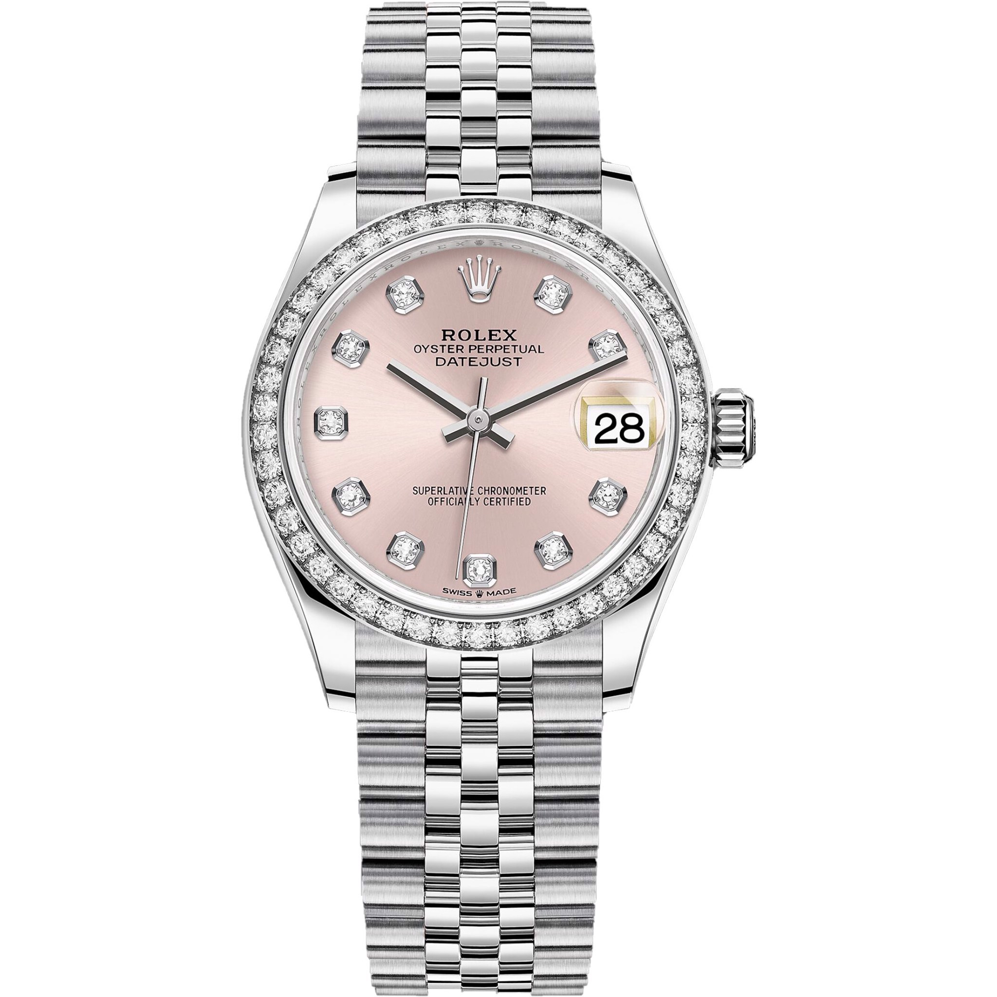 Rolex Datejust M278384rbr-0036 Watch 31mm