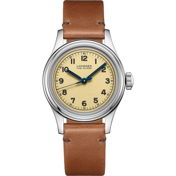 Longines Heritage L2.833.4.93.2 Military Marine Watch 38.5mm