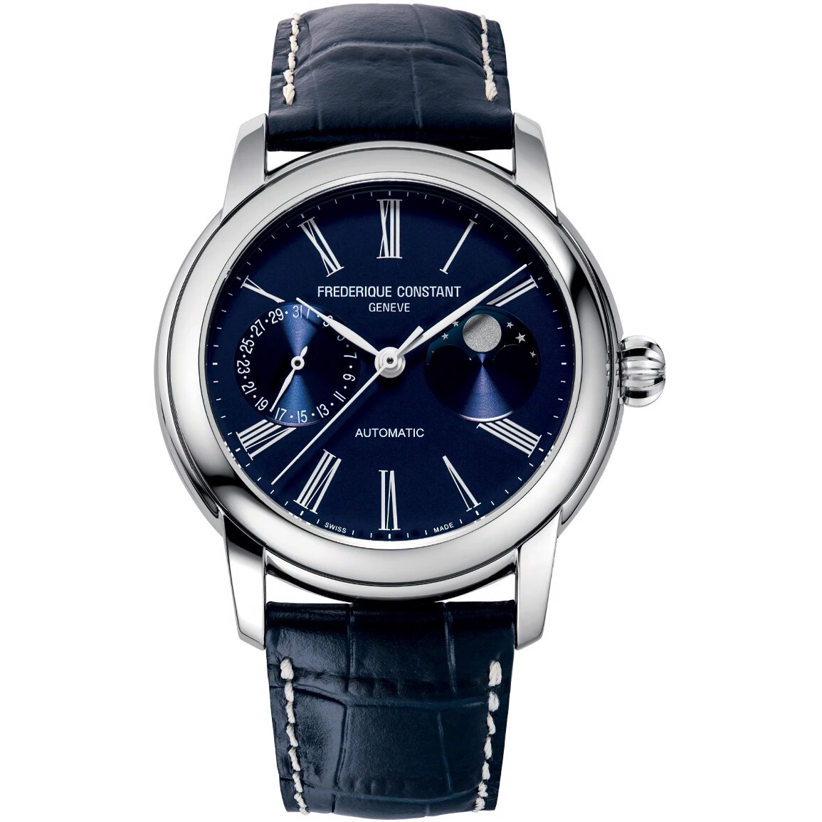 Frederique Constant Classic FC-712MN4H6 Moonphase Watch 42mm