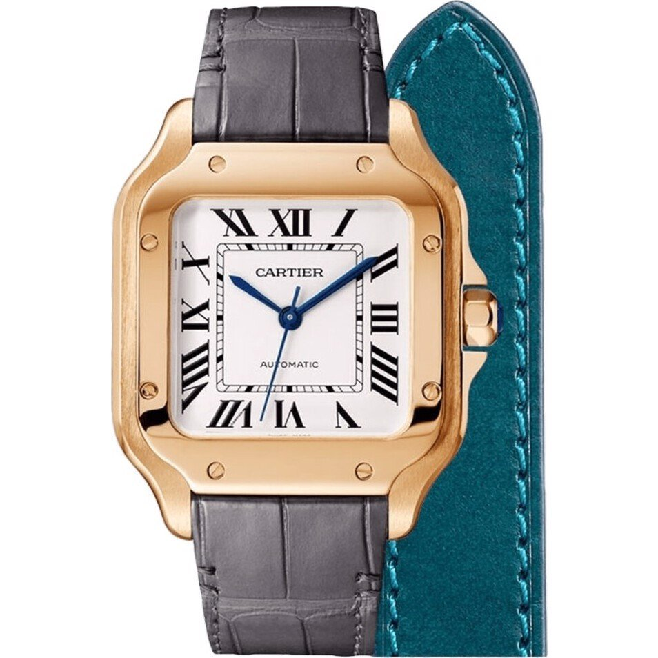 Cartier Santos WGSA0028 Watch 35.1mm