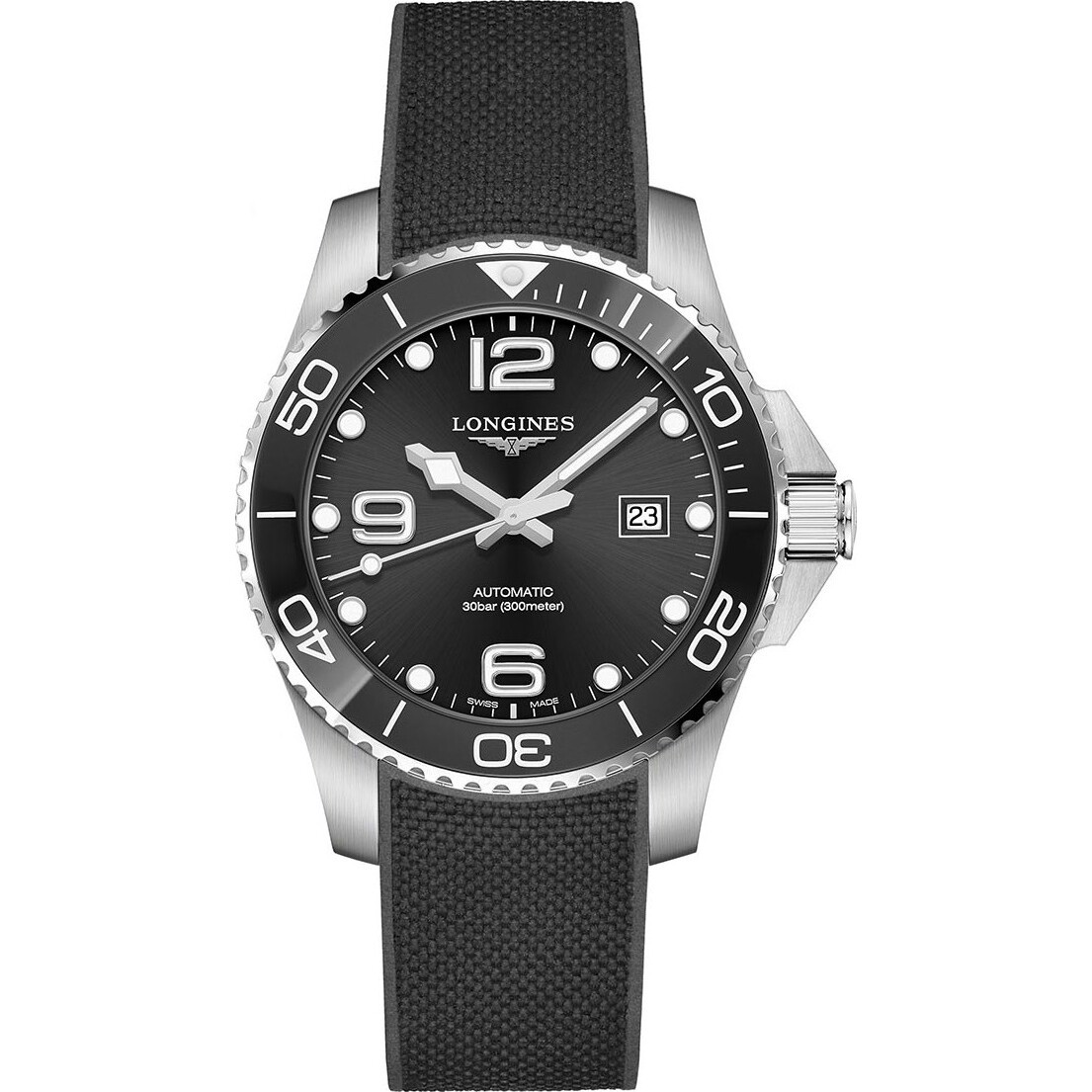 Longines HydroConquest L3.782.4.56.9 Watch 43mm
