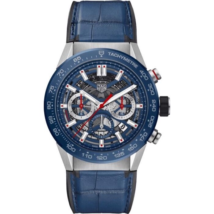 Tag HeuerCarrera CBG2A11.FC6460 Chrono Watch 45mm