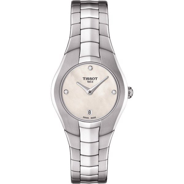 Tissot T-Round T096.009.11.116.00 Diamond Watch 25.9
