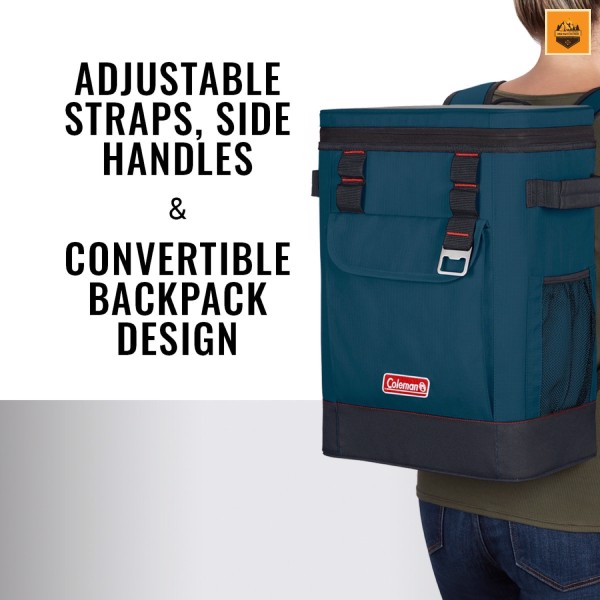 Túi Giữ Nhiệt Coleman 28 Can Portable Soft Cooler Backpack