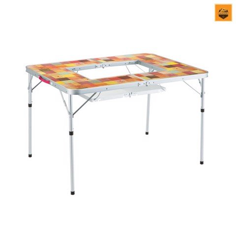 Bàn Coleman Natural Mosaic (TM) BBQ Table / 110 Plus