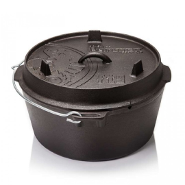 Dutch Oven ft9 with a plane bottom surface