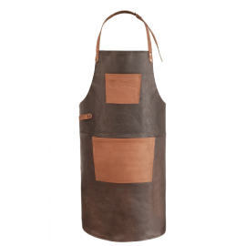 Buffalo Leather Apron with neck strap
