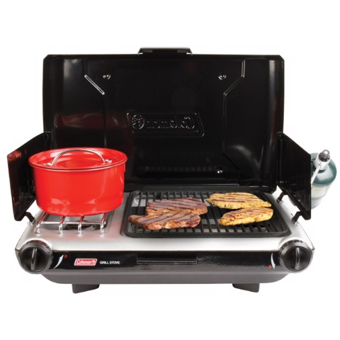 Bếp Gas Coleman Portable Propane Grill & Stove