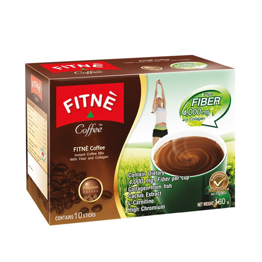 CAFE FITNE CHẤT XƠ & COLLAGEN
