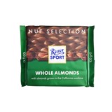 Socola Ritter Sport Whole Almonds 100g