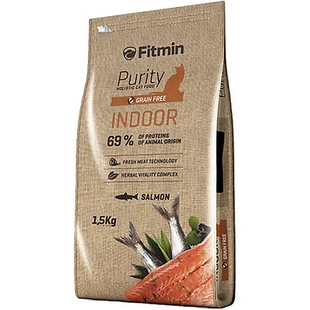 Fitmin Cat Purity Indoor 1.5Kg
