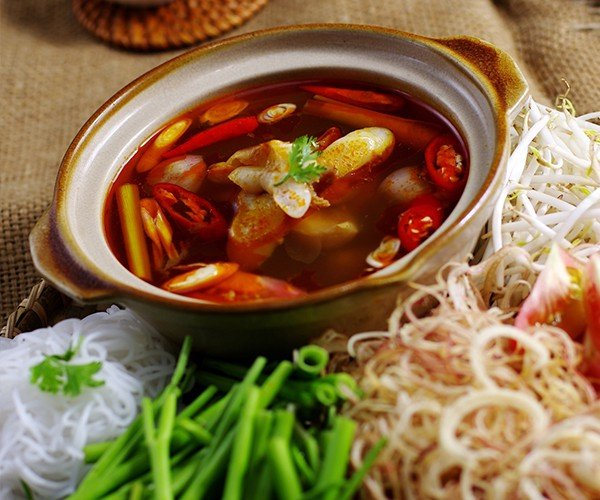 Lẩu Gân cá Bò Gù - Ocean Tuna's tendon hot pot (Small Size)
