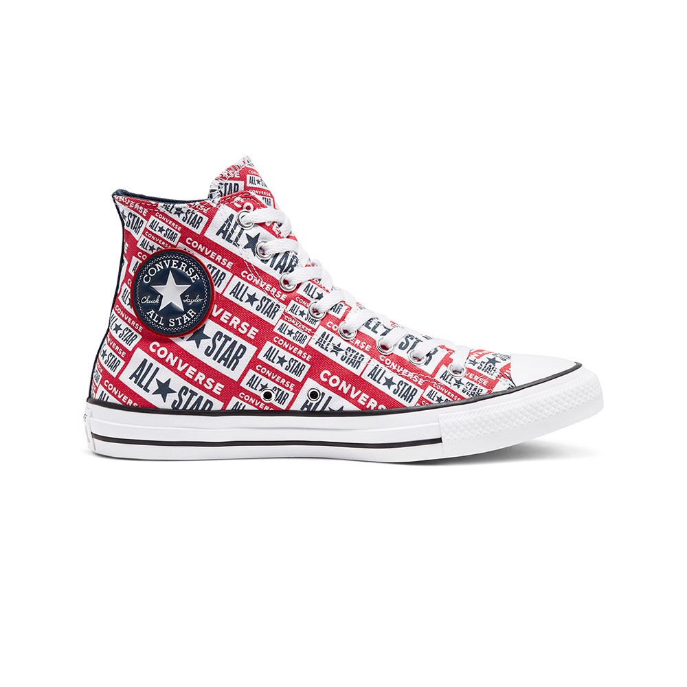 Giày Converse Chuck Taylor All Star Twisted Logo Play Hi Top