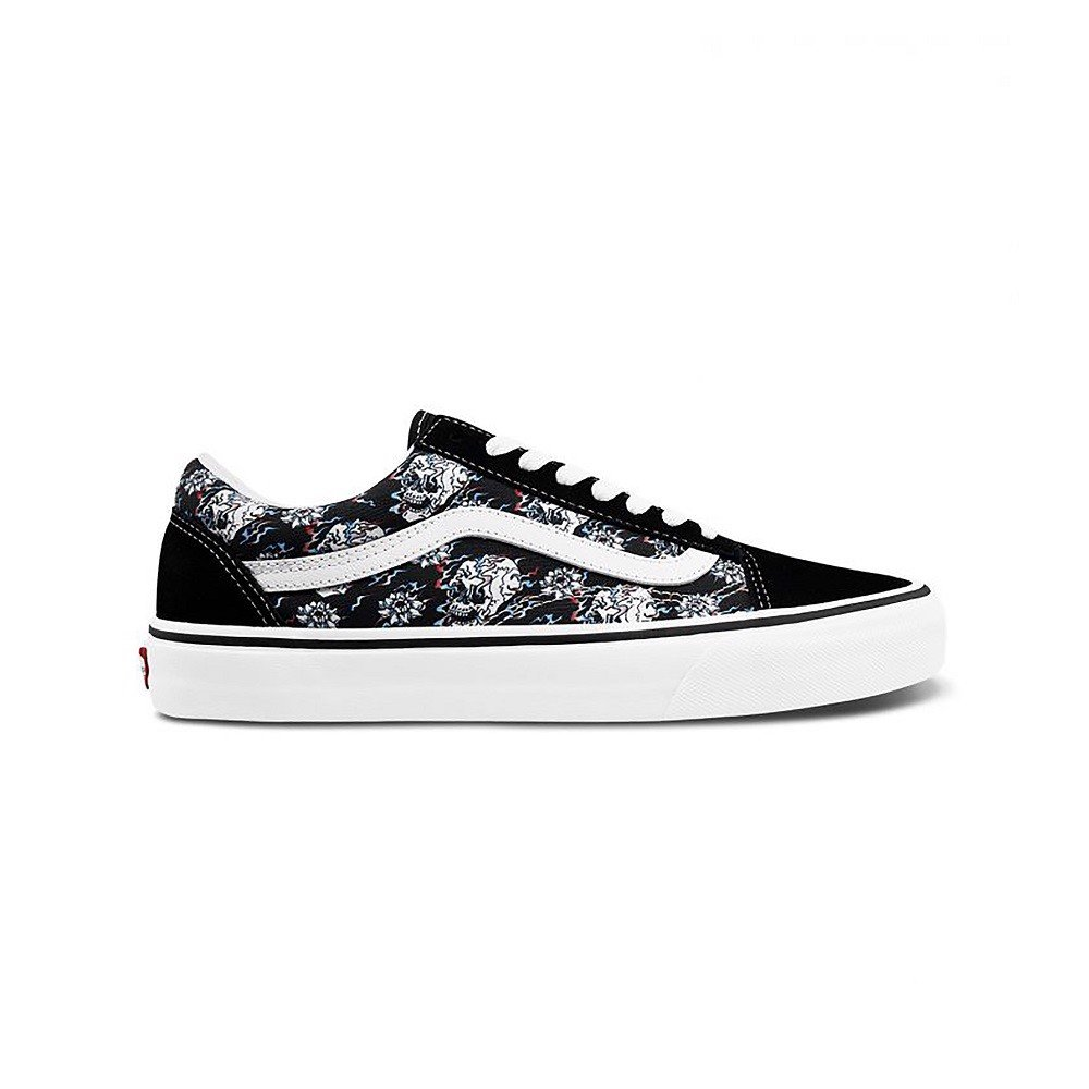 Giày Vans Old Skool Flash Skull