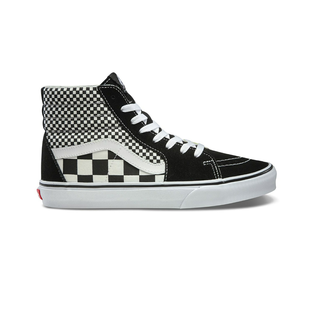 Giày Vans Sk8 Hi Mix Checker