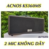 LOA KEÓ BLUETOOTH DI ĐỘNG ACNOS KBEATBOX KS360MS