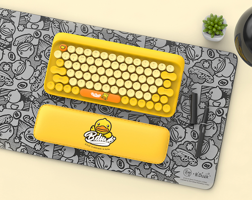 Lofree keyboard for Mac (BDuck Limited Edition)