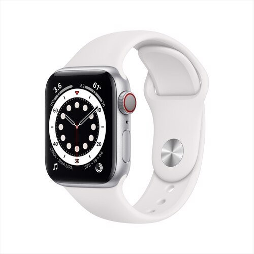 Apple Watch Series 6 40mm Stainless Steel, Sport Band