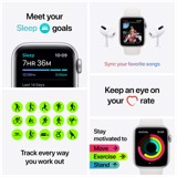 Apple Watch SE GPS 40mm Aluminum, Sport Band