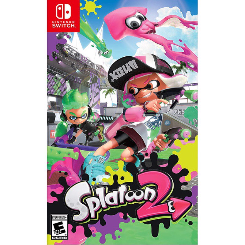 Switch Splatoon 2 - EU